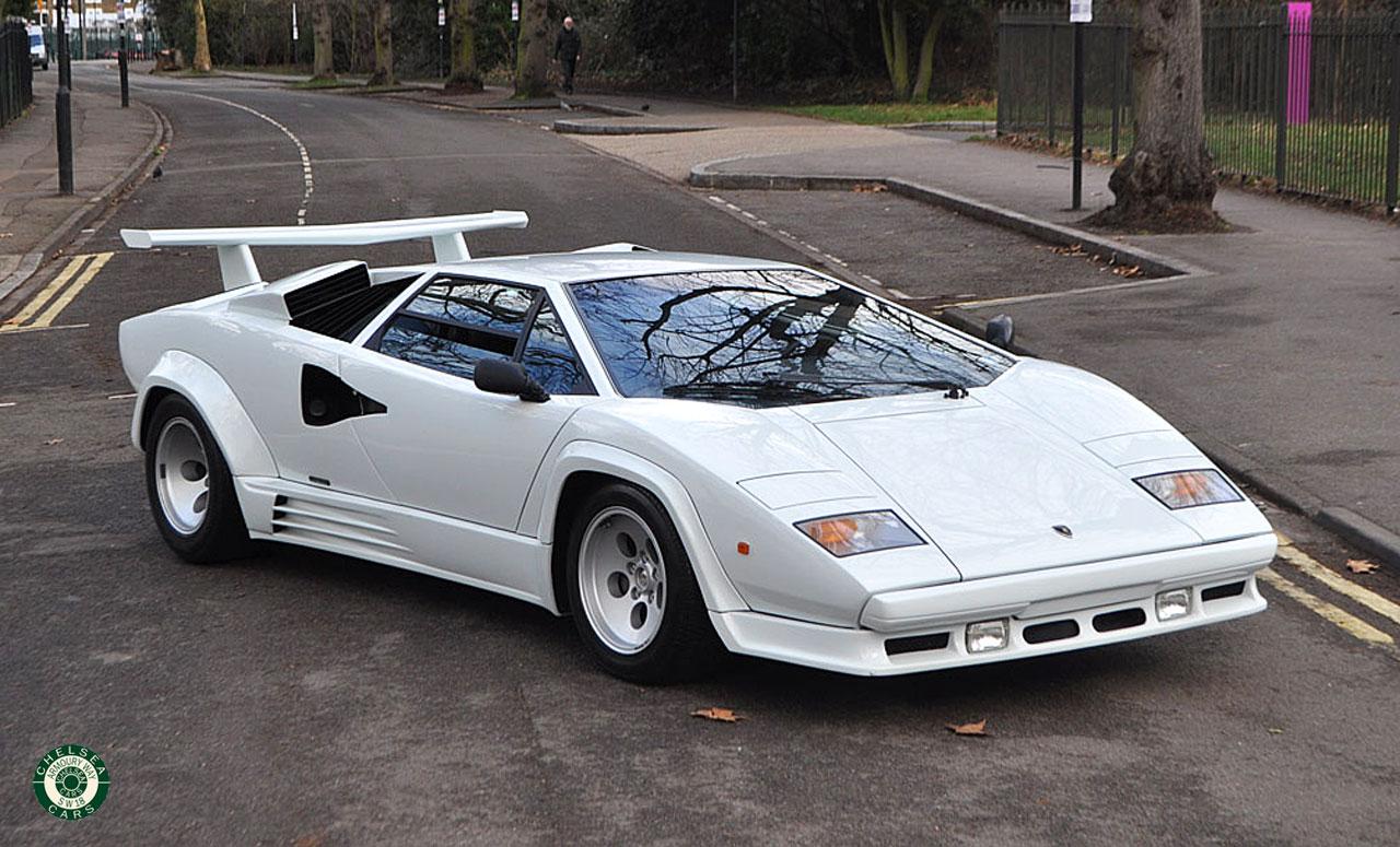 1988 Lamborghini Countach 500 Qv For Sale Chelsea Cars