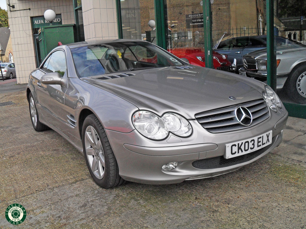 2003 mercedes sl 500 for sale chelsea cars. Black Bedroom Furniture Sets. Home Design Ideas